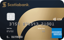 Scotiabank® Gold American Express® Card
