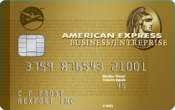 Carte en Or entreprise AIR MILES American Express