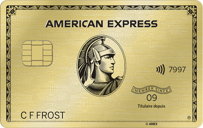 Carte Or avec primes American Express