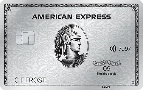 Carte de Platine American Express