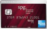 Carte de crédit Starwood Preferred GuestMD* d'American Express