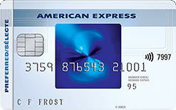 Carte sélecte RemiseSimple d'American Express
