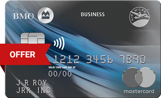 Best business credit cards in canada ratehub bmo air miles business mastercard reheart Gallery