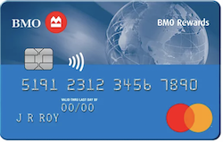 Carte MasterCard BMO Récompenses