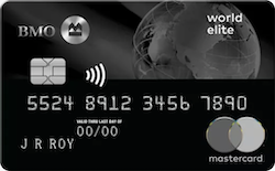 Image of Carte MasterCard BMO World Elite
