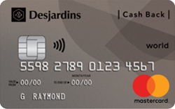 Desjardins Remises World Mastercard®