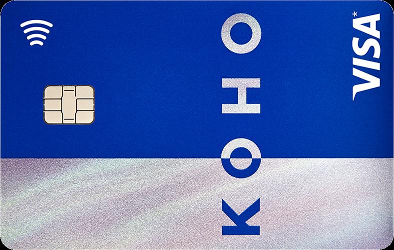 KOHO Carte Visa Premium