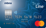 Image of MBNA True Line® Mastercard® credit card