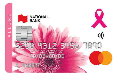 National Bank Allure MasterCard®