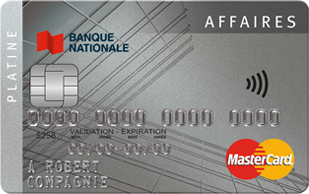 Platine Affaires MasterCard