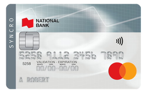 National Bank Syncro MasterCard®