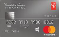 Carte World MasterCard Services financiers le Choix du Président