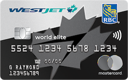 WestJet RBC World Elite MasterCard®