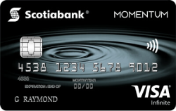 Image of Carte Visa Infinite* Momentum Scotia®