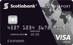 Image of Carte Visa Infinite* Passeport Banque Scotia