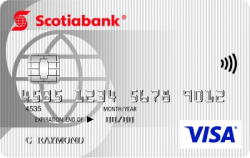 Image of Carte Visa* minima Scotia®