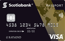 Carte VISA Or Scotia Passeport®