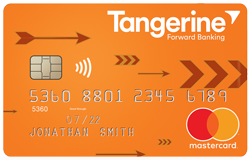 Image of Tangerine Money-Back Credit Card