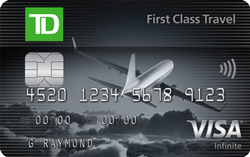TD® First Class Travel® Visa Infinite* Card