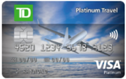 TD Platinum Travel Visa* Card