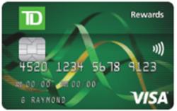 TD Rewards Visa* Card