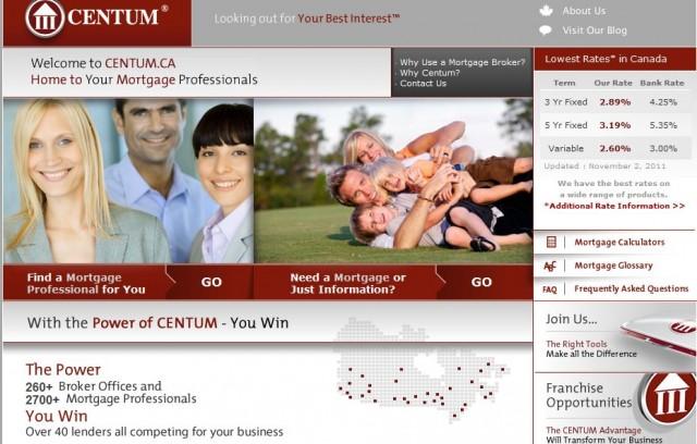 Centum One Mortgage Rates