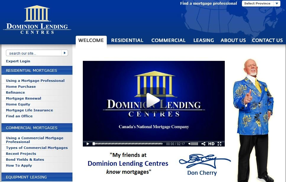 Dominion Lending Centre Mortgage Rates