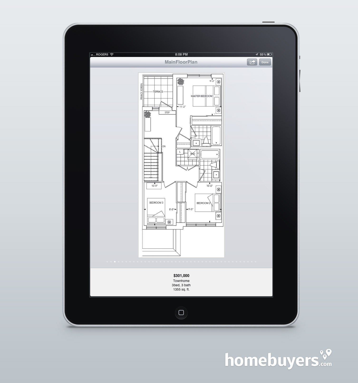 Win An IPad 3 When You Register For The New Home Buyers