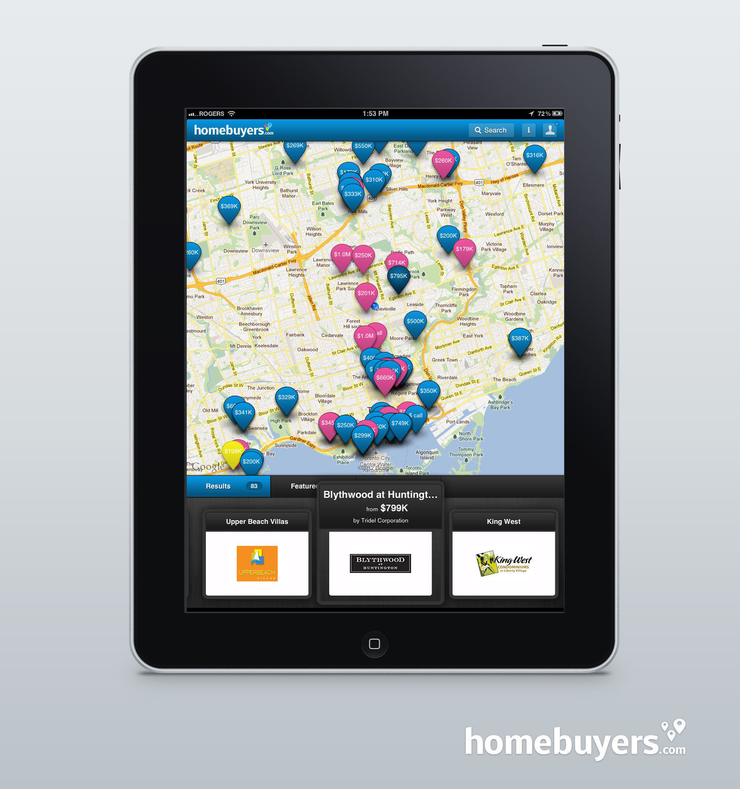 NEW HOME BUYERS NETWORK - New iPad app