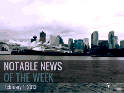 Notable News of the Week February 1 2013