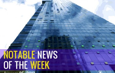 Notable News of the Week January 25 2013