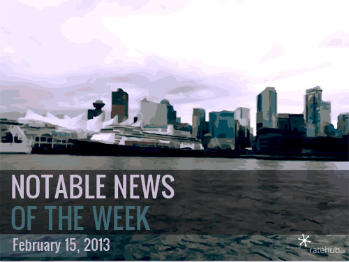 Notable News of the Week February 15 2013