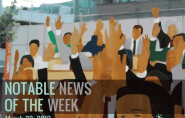 Notable News of the Week March 22 2013