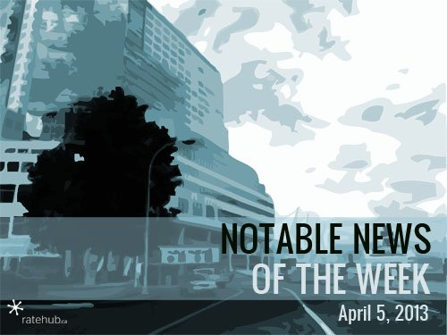 Notable News of the Week April 5 2013