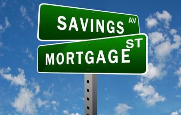 Mortgage Savings Sign