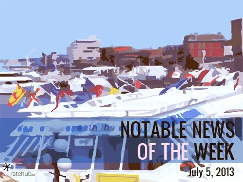 Notable News of the Week July 5 2013