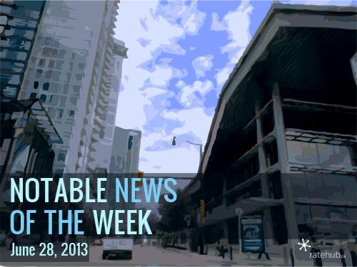 Notable News of the Week June 28 2013