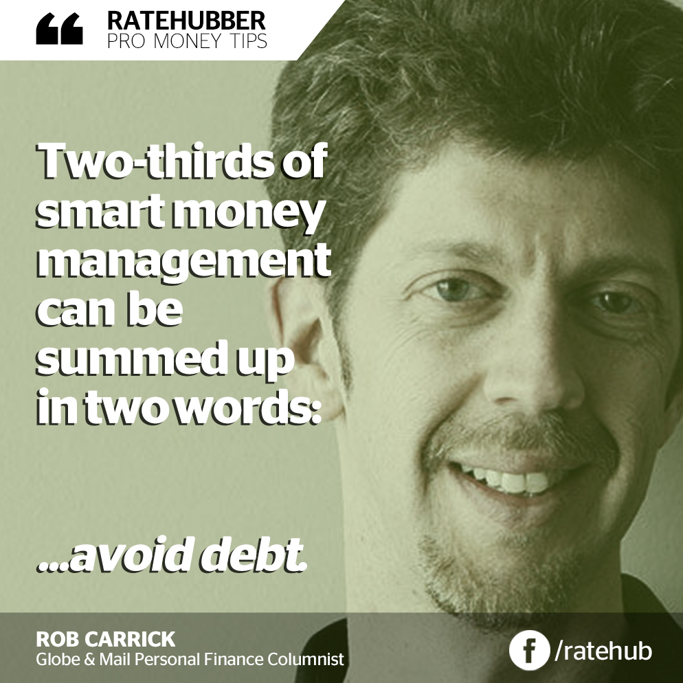 RateHubber Pro Rob Carrick