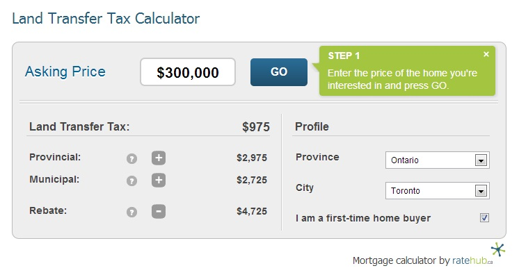 land-transfer-tax-calculator