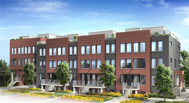 yorkdale village townhomes