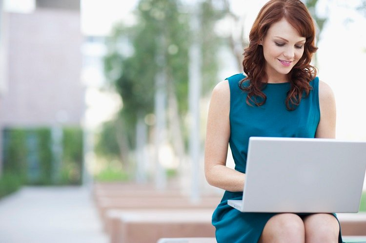 Image result for girl with laptop working