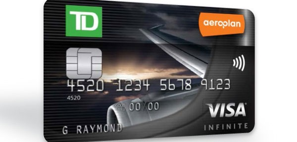 NEW Sign-up Bonus Offer for TD Aeroplan Visa Infinite