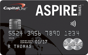 Capital One Aspire Travel Card Review