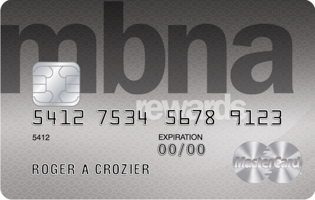 mbna rewards card