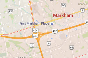 Markham-ON-google-maps