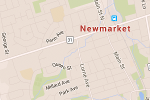 Newmarket-ON-google-maps