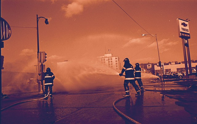 firefighters-putting-out-fires-extinguish