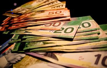 Canadian money bills
