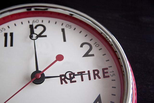 retirement-clock