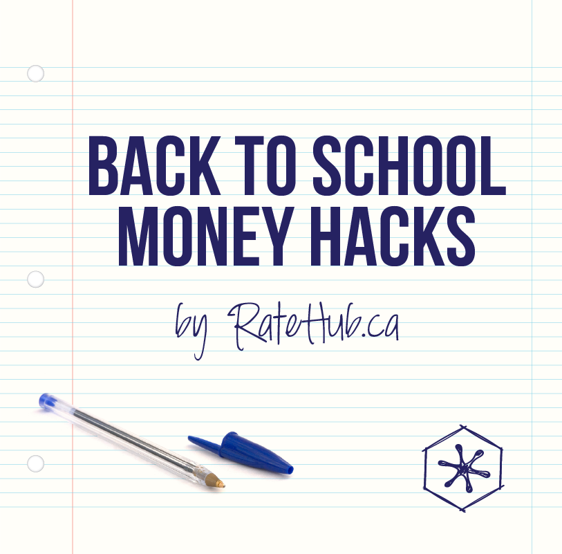 Back to School Money Hacks - Ratehub ca Blog